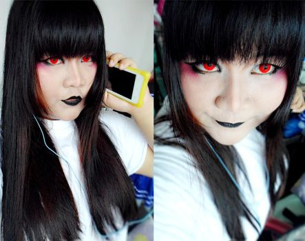 Gothic Casual Look by micahmikaella39