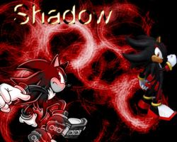 Shadow the Hedgehog Wallpaper by Darkspine-Sonic