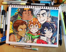 Team Voltron by shazy