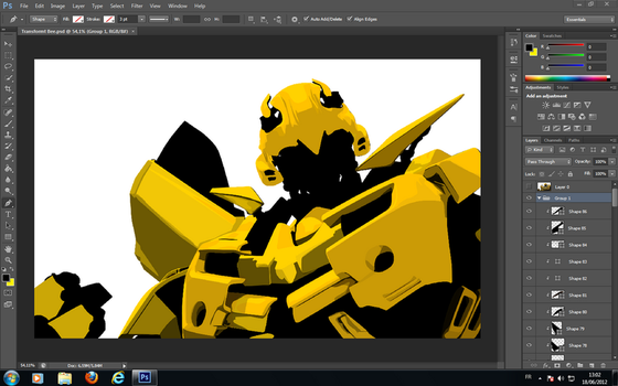 New Project ( Transformers :Bumblebee ) by islam-dz