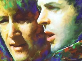 Paul And John by christiano2211
