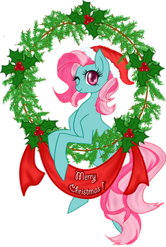 Have a very (Minty?) Merry Christmas! by mlpAzureGlow