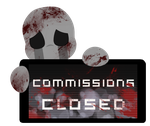 Dead Child Commissions CLOSED Stamp by Ink-cartoon