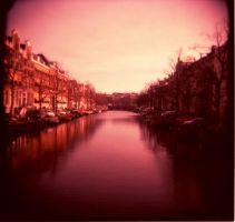 Amsterdam canal by Lejambon
