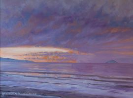 New Year's Day, Troon by tracybutlerart