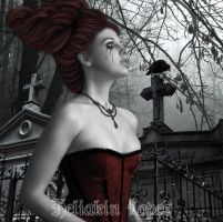 Lady of the  Cemetery 01 by Heliakin