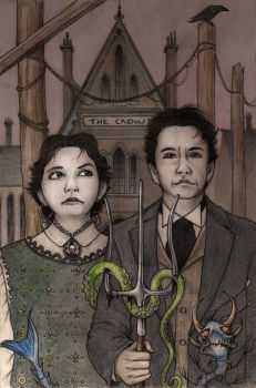 New England Gothic by CopperAge