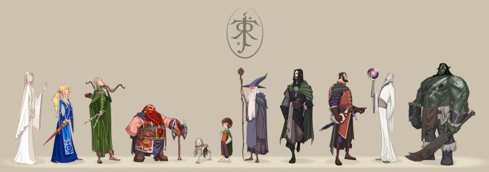 The Lord of the Rings by omarito