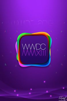 WWDC 2013 Apple event for iPhone 4-4s iPod Touch by SSxArt