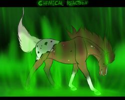 CHEMICAL REACTION by AnnMartini