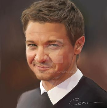 Jeremy Renner by Chitooos