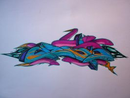 Zesk coralrush by Graffitiminded