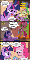 Pinkie Time by CSImadmax