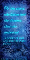 A Court Of Mist and Fury Bookmark by ImaraOfNeona