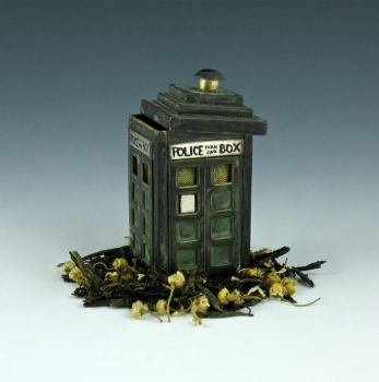 Police Box TARDIS Tea Infuser by Amazon-Butterfly