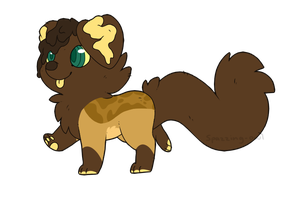 Gioco-wolf Chibi Commission by Spazzing-Owl