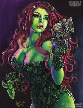 GREEN THUMB - Poison Ivy/Audrey II by The-Art-of-Ravenwolf