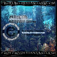Aquatic Plant GIMP Brushes by FrostBo