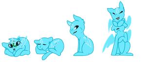 Free Pony Bases by Paradise-Of-Thorns