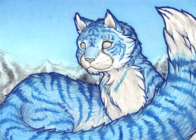 ACEO/ATC: Ice Cold by Samantha-dragon