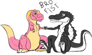 Bro Fist by Carolzilla