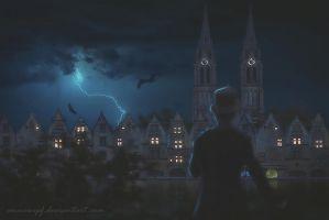 Dark Town by annewipf