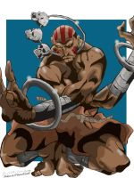 Dhalsim Collaboration by Ankhu