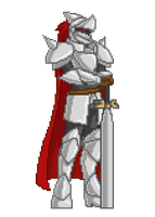 More Starbound! - Glitch Knight by extrahp