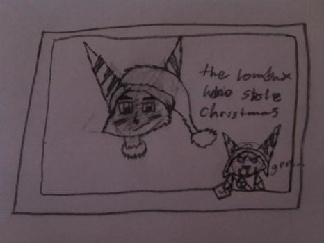 Hunter: The lombax who stole Christmas(Contest) by Twilightlover865