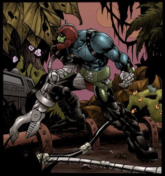 trap-jaw color by dr-barzak