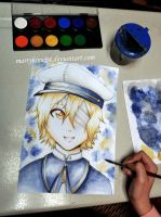 Oliver Watercolors by Marryhime94