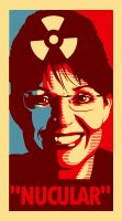 Sarah Palin Goes Nucular by TheIronLion