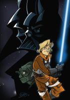 the Empire Strikes Back by woev