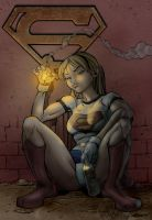 supergirl rock bottom v1.2 by titaniumgorilla
