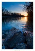 River Sunset by AndreasResch