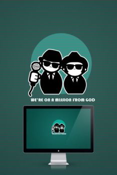 Blues Brothers by wall-e-ps