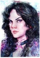 Yennefer by BlackAssassiN999