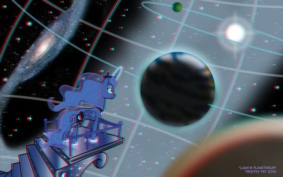 Luna's Planetarium in 3D! by Tim-Kangaroo