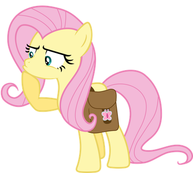 Suspicious Fluttershy by exe2001