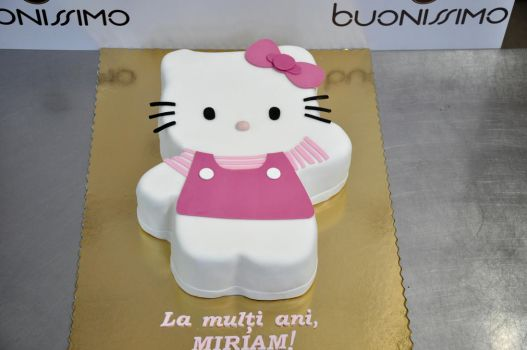 Hello Kitty cake by Florin-Chis