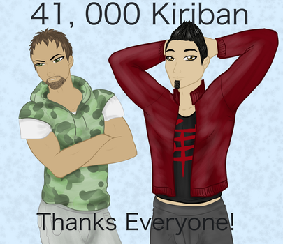 41K Kiriban by TaviTheBlue