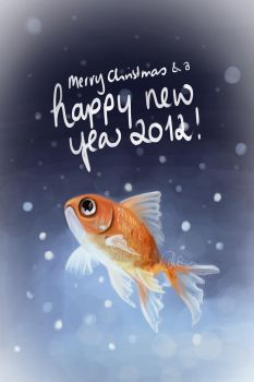 Best wishes Card 2012 by Eyliphca