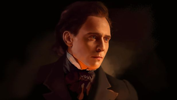 Tom Hiddleston as Thomas Sharpe by evastefania