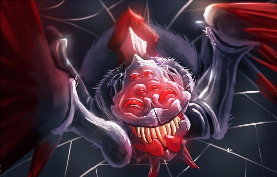 Broodmother Selfie! (Dota 2) by ThePointyman