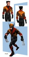 Wolverine Redesign by Bunk2