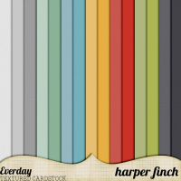 Everyday Bonus Textured Cardstock by Harper Finch by harperfinch