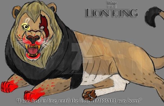 Scar from The Lion King by imaginativegenius099