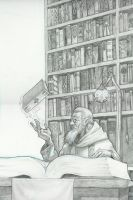 Wizards Library by tonysteck