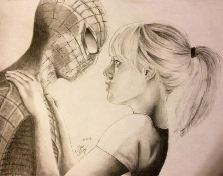 Amazing Spiderman by Theonejesse