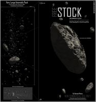 Very Large Asteroids Pack by Hameed